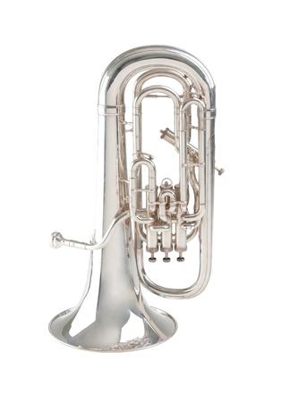 tuba: Euphonium the musical instrument Stock Photo