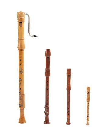 flauta dulce: Hay muchos tipos de registrador de su elección