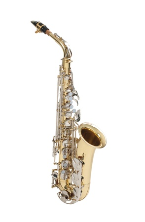 Sonido antiguo y grande del saxof�n photo