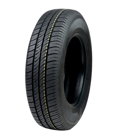 New car tyre Stock Photo - 16658316