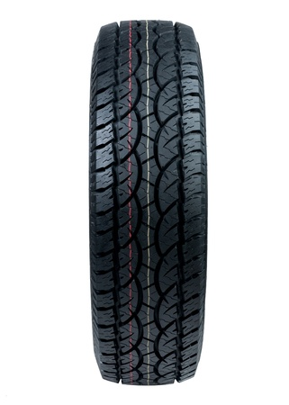 tyre for car or pickup truck photo