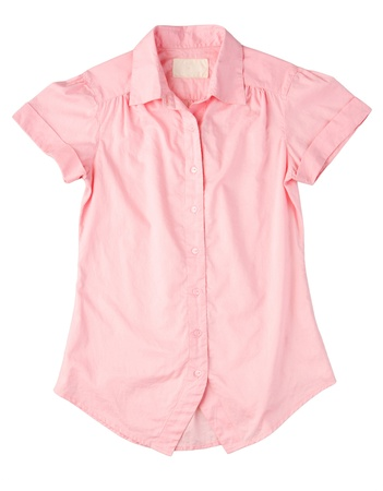 Beautiful pink shirt for working, shopping or traveling photo