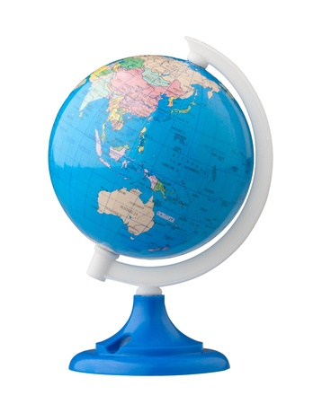 terrestrial: Terrestrial globe for learning about world map