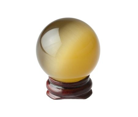 The crystal magic ball waiting for you to ask something Stock Photo - 16742022