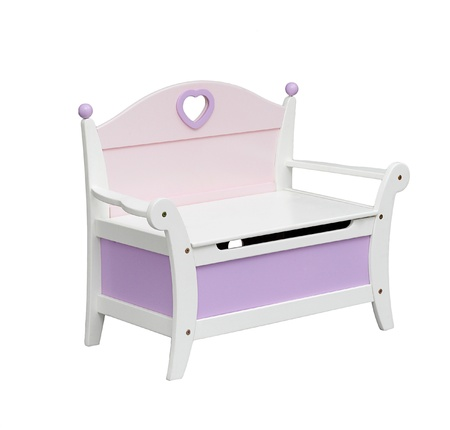 A cute chair with drawer for a little girl Stock Photo - 16742026