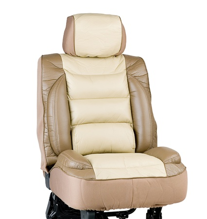 vehicle seat: Protect your car seat from dirty and still comfortable by leather car seat cover Stock Photo