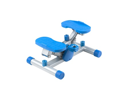 hometrainer: Gym stepper good for exercise at home or fitness