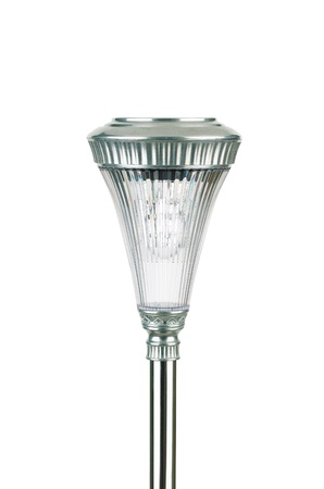 A glass solar cell lamp for decorate garden or park Stock Photo - 16806465