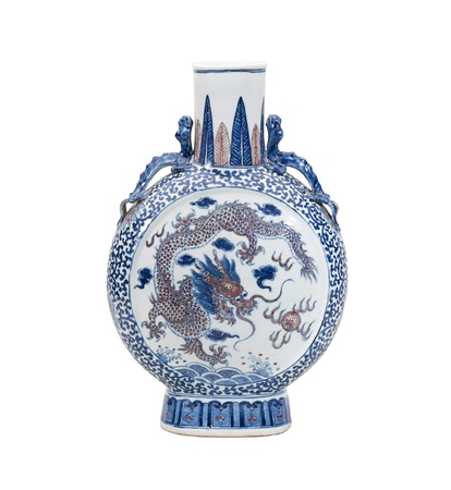 antique dishes: Beautiful Chinese antique vase for collector