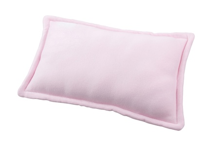 Small pink pillow for baby