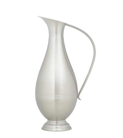 Nice and elegant pitcher for serving beverage or home decoration Stock Photo - 16844707