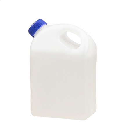 1 gallon of liquid container without label photo