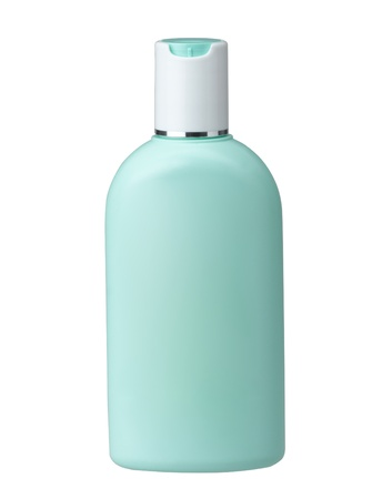 Cosmetic bottle without label for you put your brand or text on it Stock Photo - 16844713