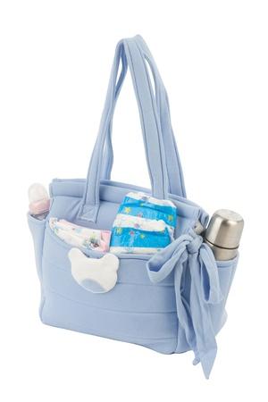 Borsa in tessuto per la mamma di tenere accessori per neonati
