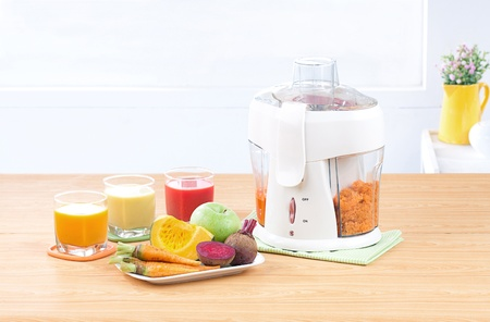 Residue and fiber separator how easy to drinking juice photo
