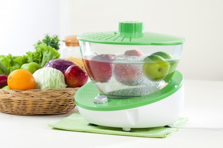 ozone:  fruit and vegetable ozone cleaner machine its easy way to clean fruits and vegetable