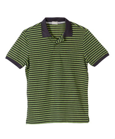 Green strip t-shirt for men photo