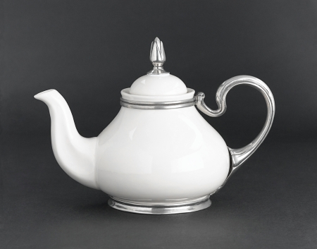 pewter mug: Enjoy your tea time with beautiful teapot