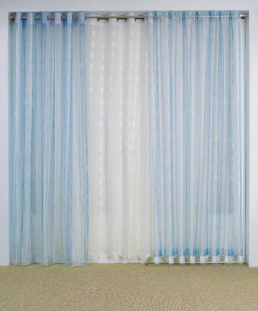 Curtain with blank space need your decoration stuffs to putting in photo