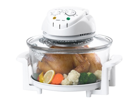 Electric convection oven photo