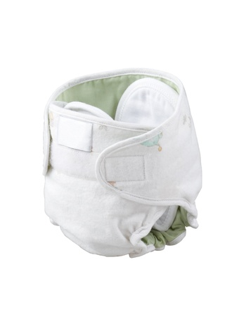 swaddling: Reusable cloth diaper