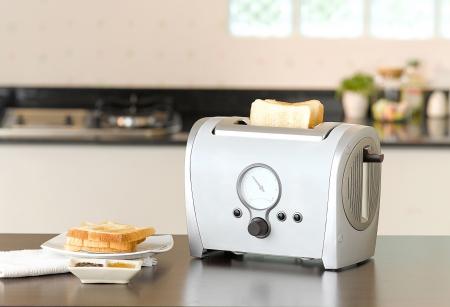 bread toaster  Standard-Bild