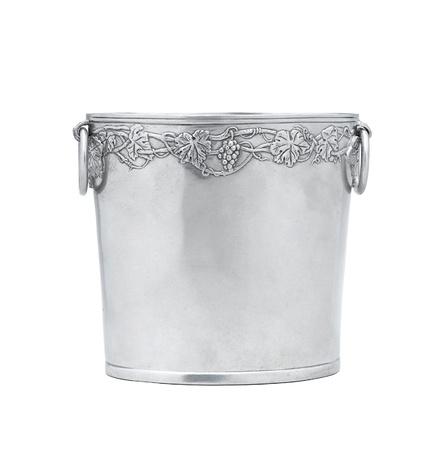 Elegance pewter bucket for alcohol bottle photo