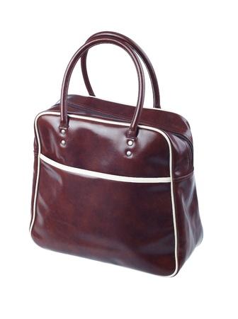 A cute leather sport bag photo