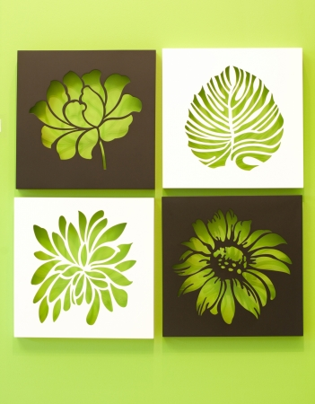 stencil:  Photo frame for home decoration