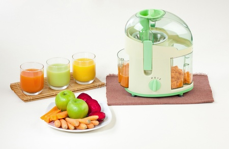 You can drink juice without residue by juice maker machine photo