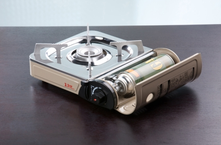 portable gas stove for picnic, camping, hiking or outdoor activities