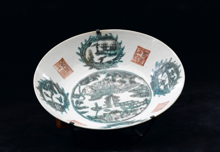 collectible: An antique chinese bowl for collectible