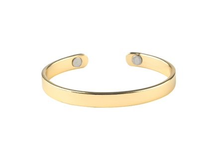 bangle: A luxury golden bracelet nice for collection