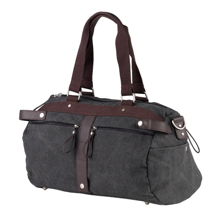 carryall: A nice luggage for comfortable traveling Stock Photo