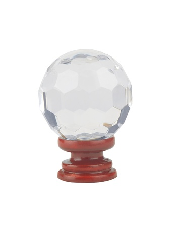 A beautiful crystal ball on stand Stock Photo - 17329886