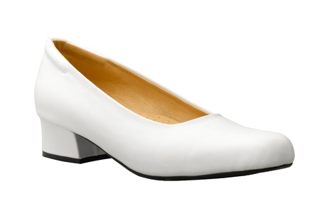 A white woman shoe nice for a nurse Stock Photo - 17433512