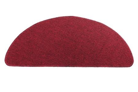 welcome mat: Red doormat for entrance door