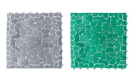 Anti slip plastic tiles for bathroom or wet area Stock Photo - 17623948