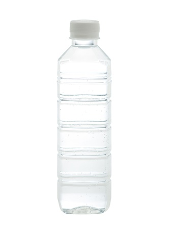 regimen: Drinking water bottle with blank label for your advertisement