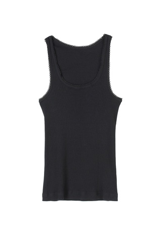 Beautiful black woman singlet nice for summer Stock Photo - 17788375