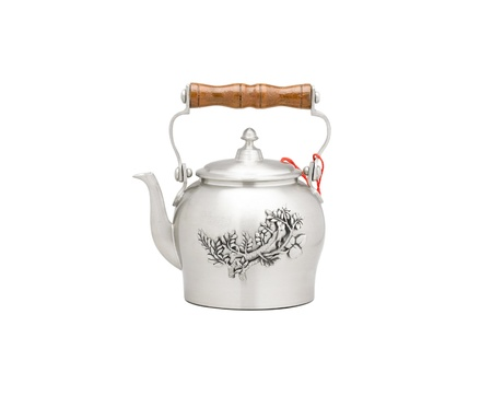 pewter mug: A little pewter teapot in chinese style