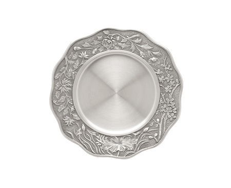 pewter: Luxury pewter dish nice for kitchen use or decoration