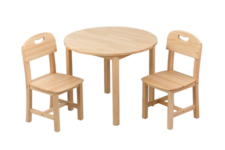 illiteracy: Nice and comfortable wooden kids chair and table set