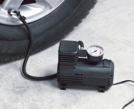 Car air compressor photo