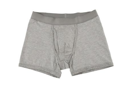 boxer shorts: mens underwear isolated on white background