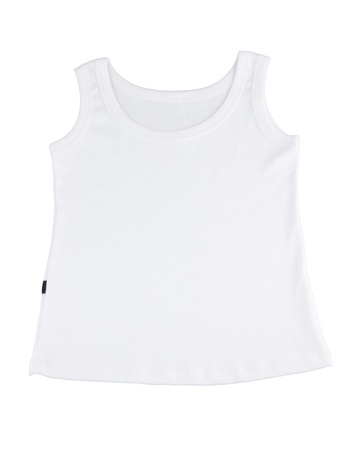 white singlet: Casual white singlet for your relaxing day