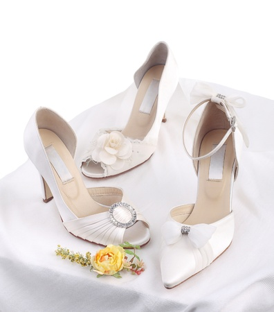 wedding accessories: The elegant shoes more choice for the bride