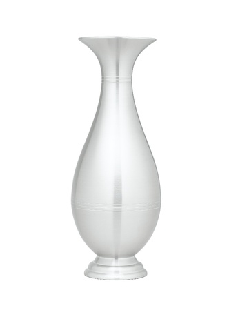 A Luxury Pewter Vase For Home Decoration Stock Photo Picture And