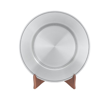 pewter: A luxury pewter dish for special dinner