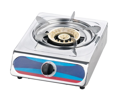 stoves: A one head metal gas stove